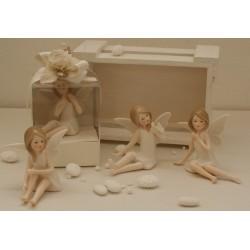 Fate di porcellana con farfalline 4 modelli assortiti confezionate