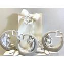 Sposi stilizzati con cuore 3 modelli assortiti confezionati