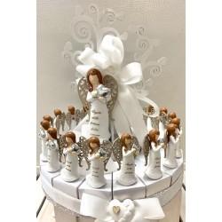 Torta Albero della Vita da 18 pezzi confezionata con Angela Fortunella