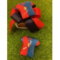Scatolina plexi vuota con nastro rosso/blu e Maglia calcio di vetro magnete