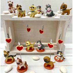 Portachiavi Cani & Gatto 6 modelli assortiti